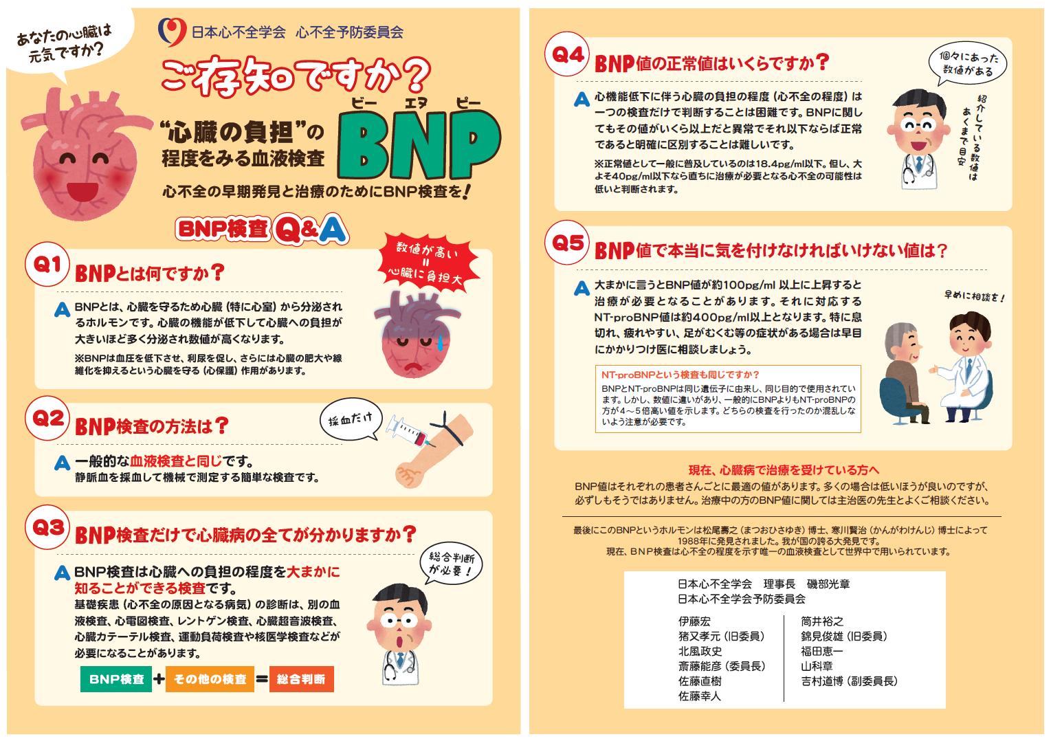 心不全 bnp